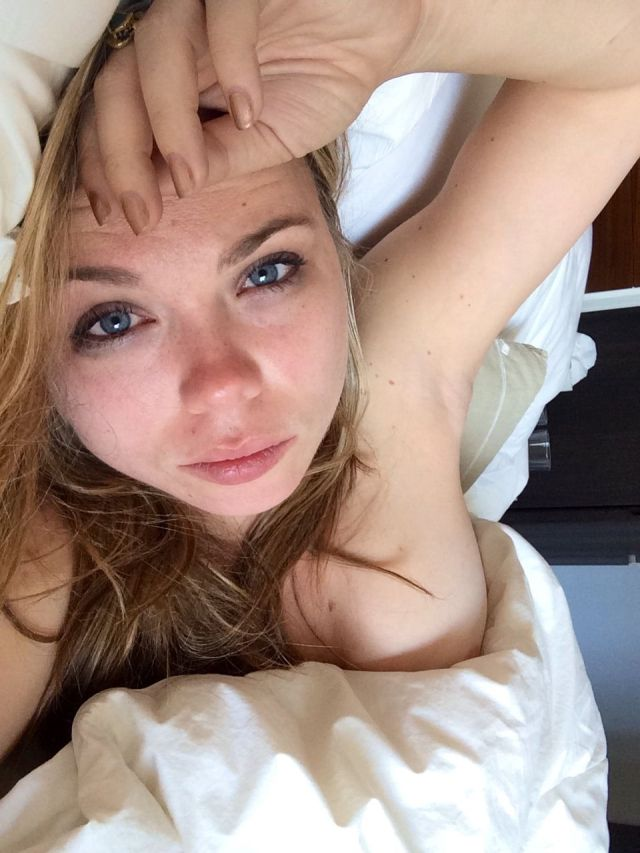 Amanda Fuller on Bed