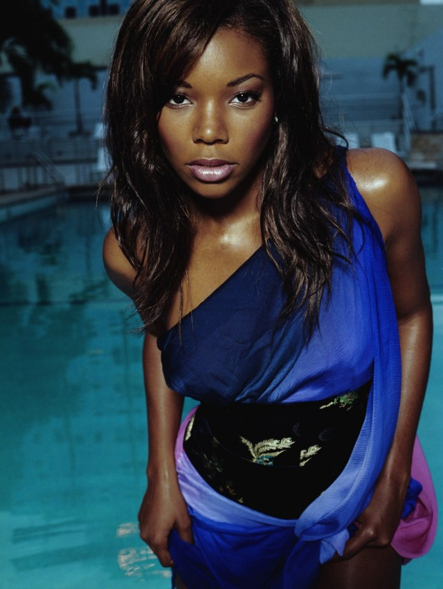Gabrielle Union in Swimming Pool