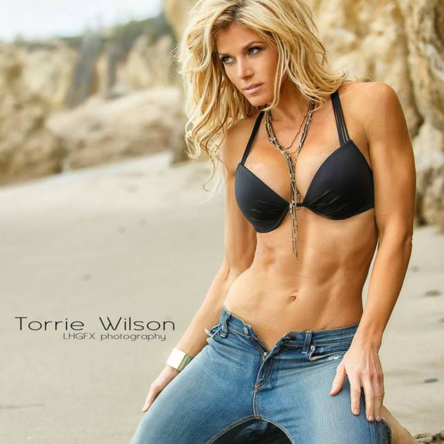 Torrie Wilson on Photoshoot