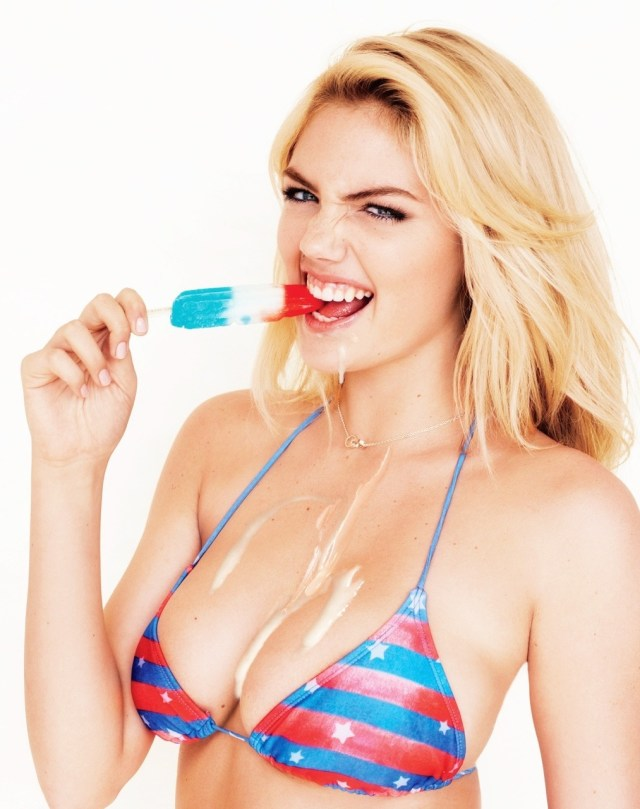 Kate Upton Ice Cream
