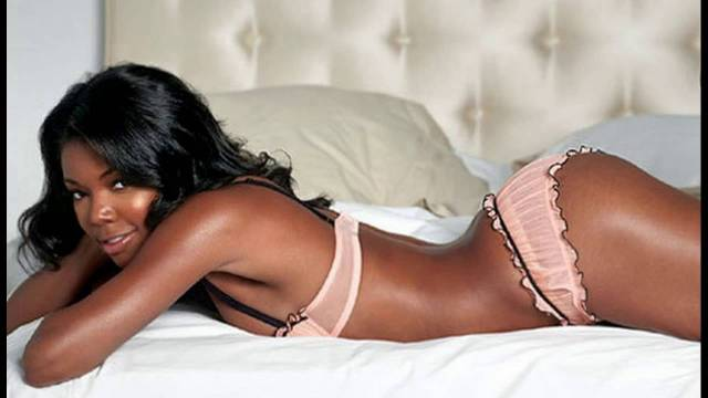 Gabrielle Union in Bed