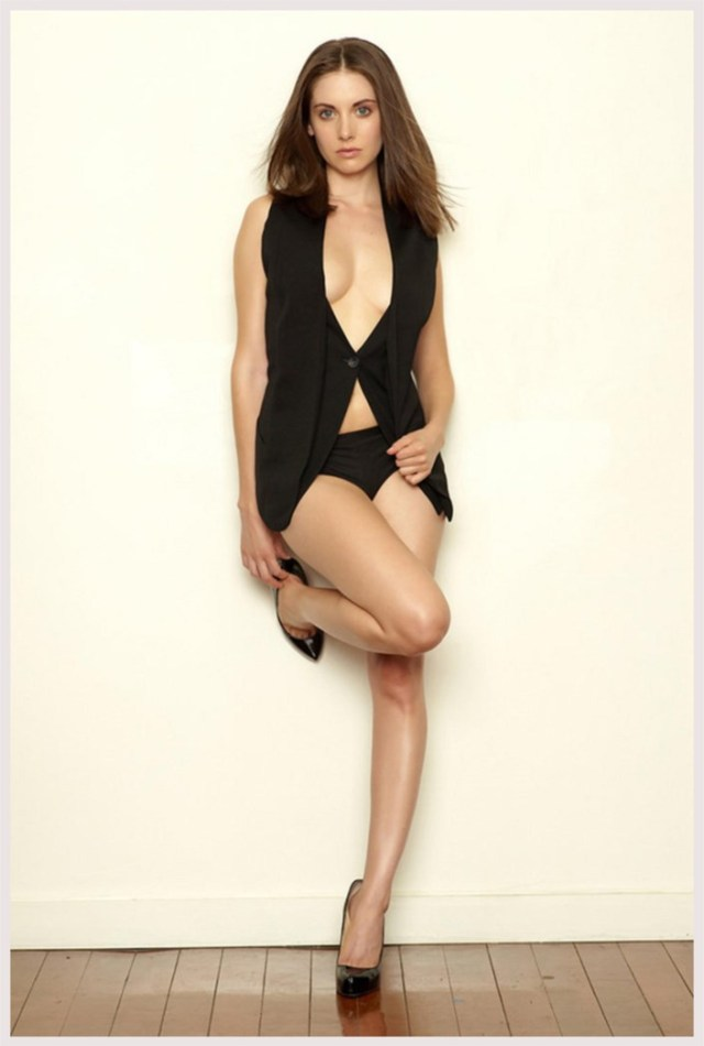 Alison Brie Sexy Feet