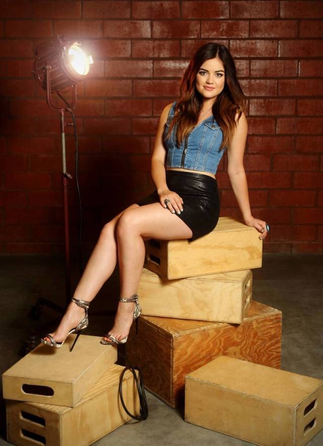 Lucy Hale sexy Feet
