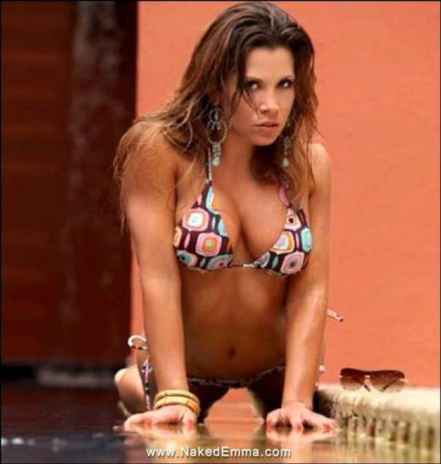 Mickie James Topless
