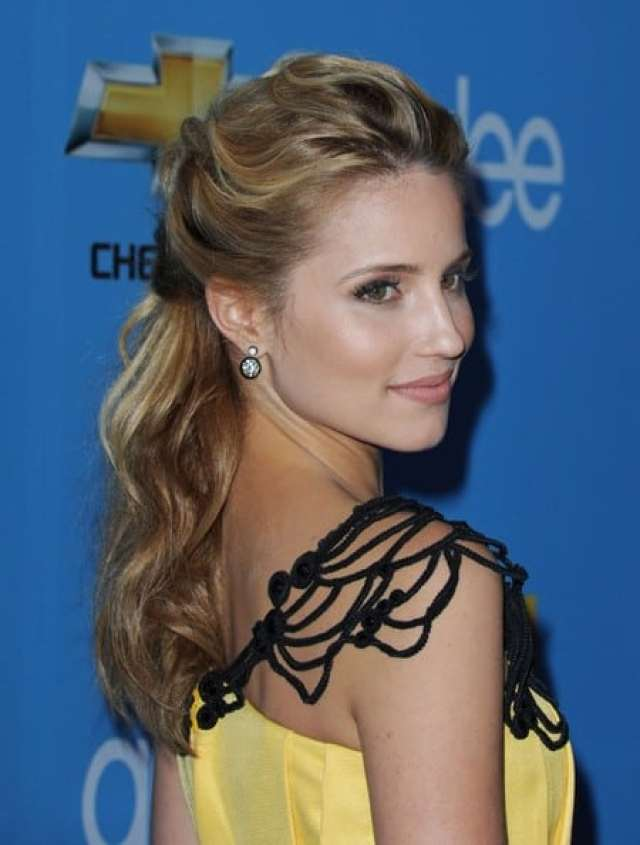 dianna agron sexy back