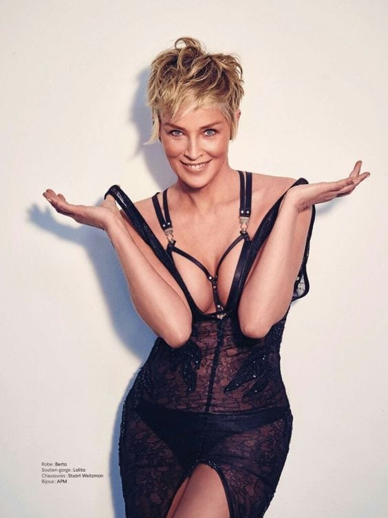 Sharon Stone Sexy Pictures