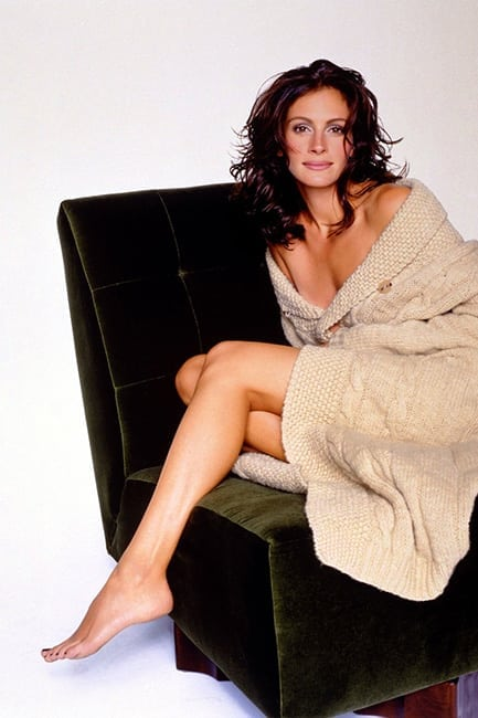 julia roberts hot feet