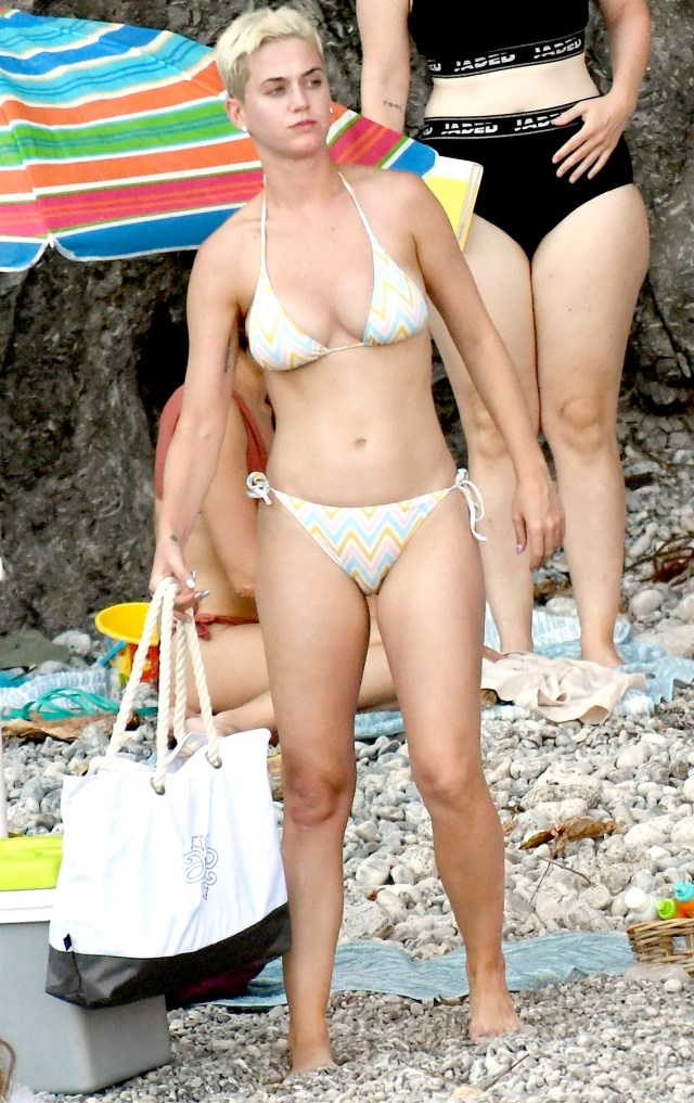 katy perry beach