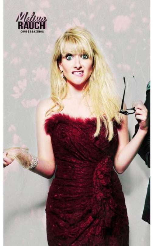 melissa rauch angry