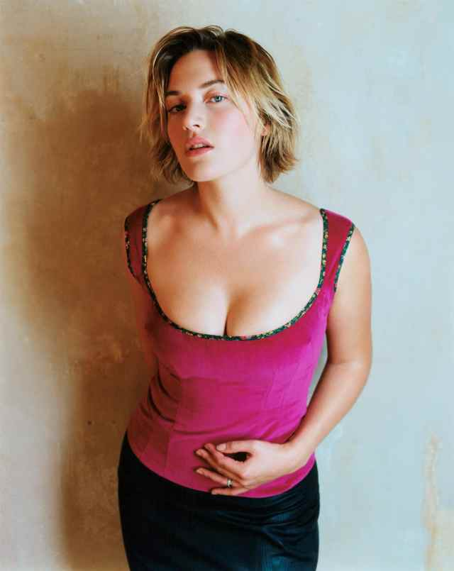 Kate Winslet Hot in Pink