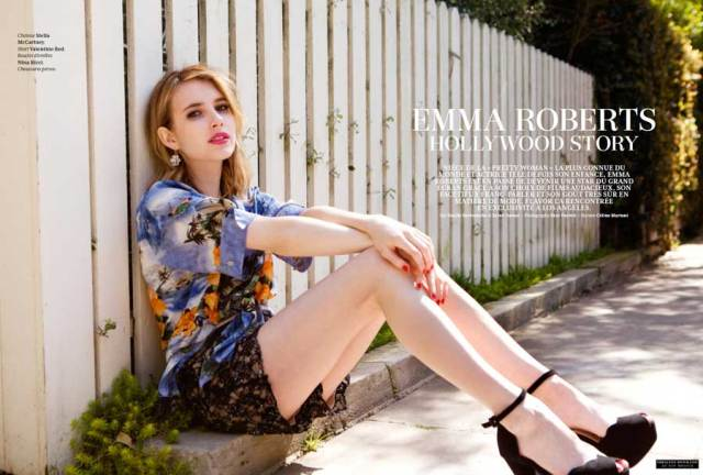 Emma Roberts Hd Photoshoot