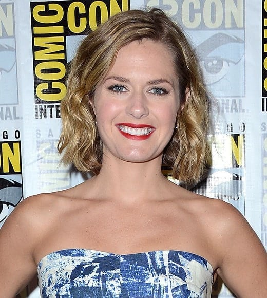 Maggie Lawson Red Lips