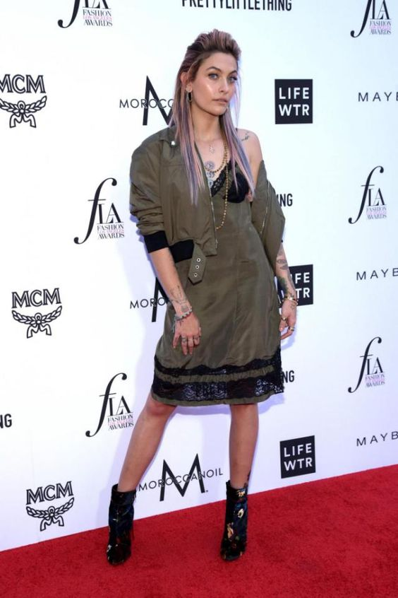 Paris Jackson on Red carpet