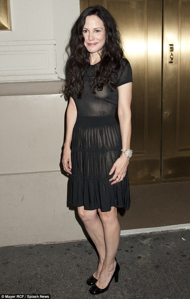 Mary-Louise Parker Hot in Black