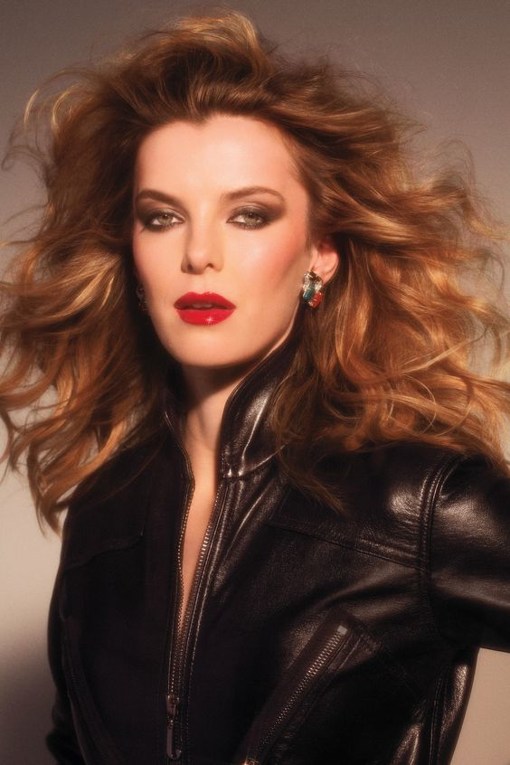 Betty Gilpin Red Lips
