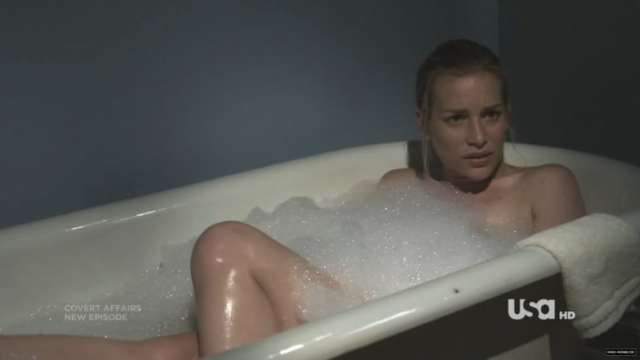 Piper Perabo on Bathing Tub