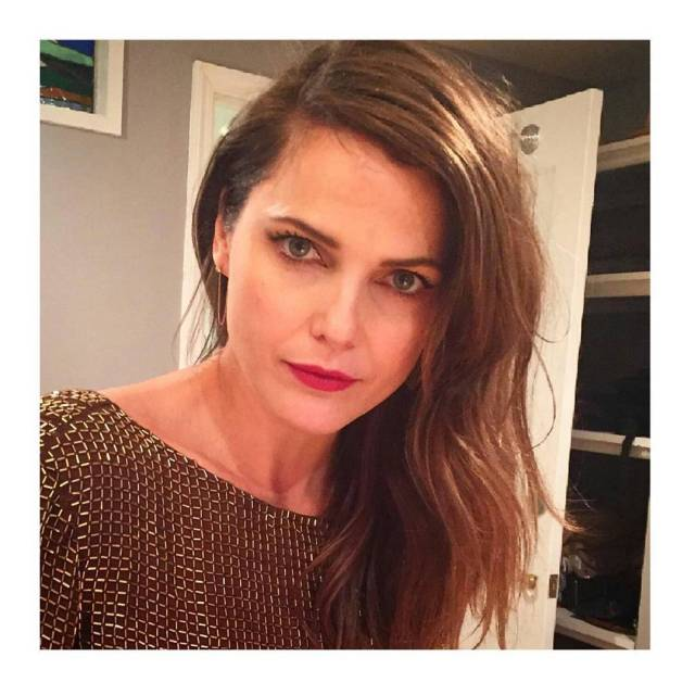 Keri Russell Red Lips