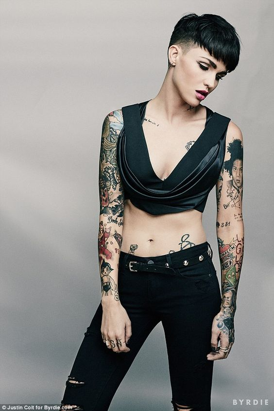 Ruby Rose Photoshoot