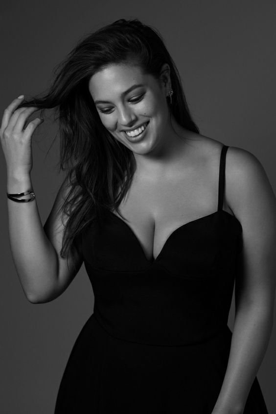 Ashley Graham Smile