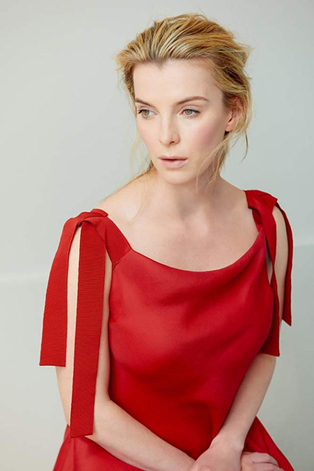 Betty Gilpin Hot in Red