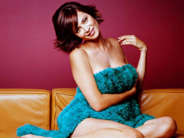 Catherine Bell Hot in Blue