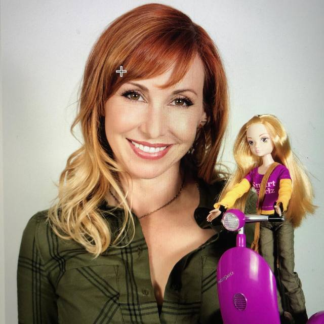 Kari Byron with Doll