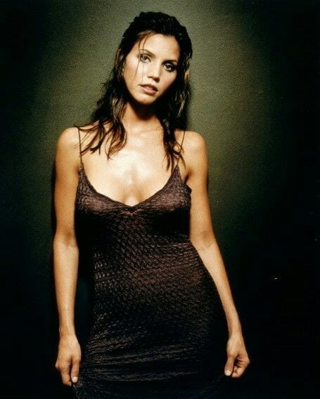charisma carpenter sexy dress