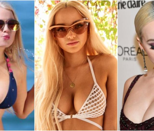 Hottest Dove Cameron Bikini Pictures Show Off Sexy Curvy Physique