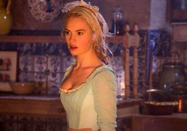 lily james shocked