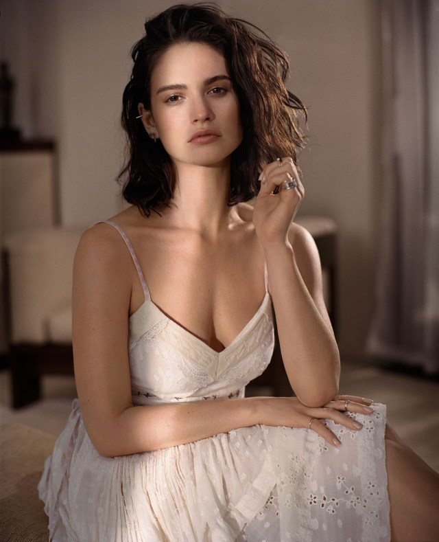 lily james wow