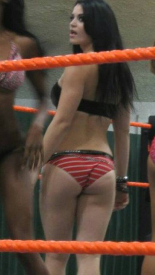 paige sexy booty