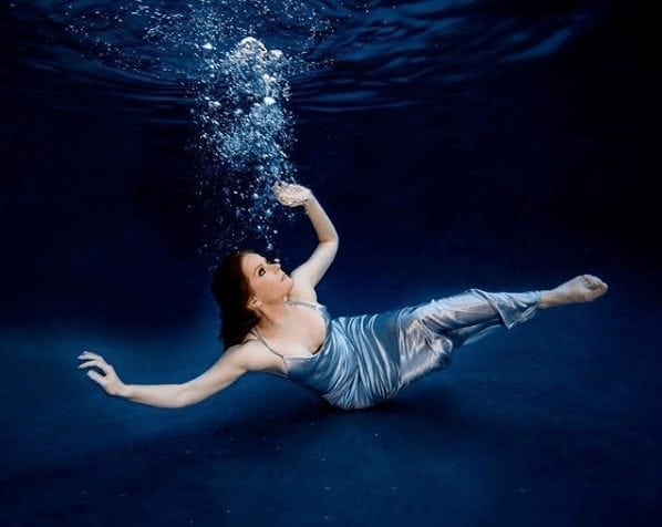 rebecca mader under the water