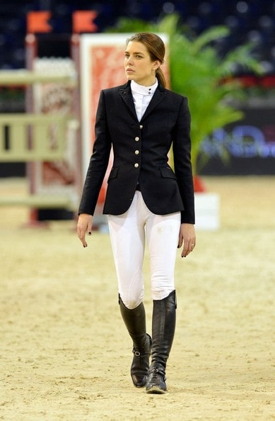 Charlotte Casiraghi on Horse Riding