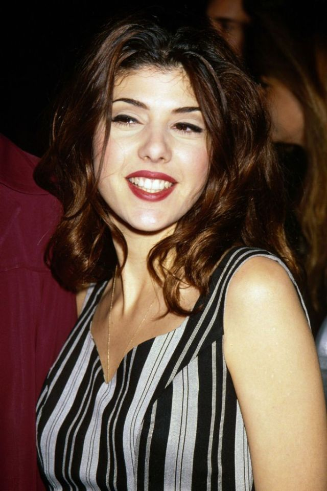 Marisa Tomei Red Lips