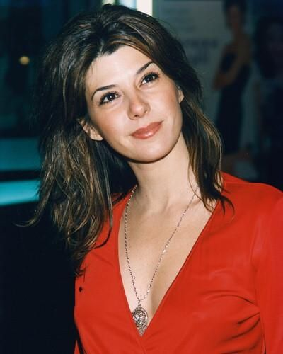 Marisa Tomei Hot on Red