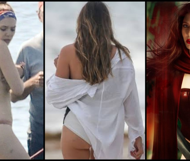 Hottest Elizabeth Olsen Big Ass Pictures Prove She Is The
