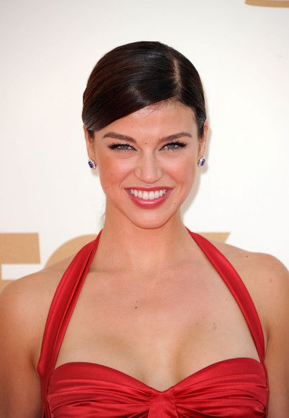 Adrianne Palicki Hot in Red