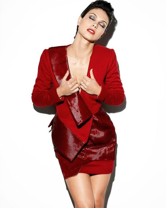 Morena Baccarin Hot in Red