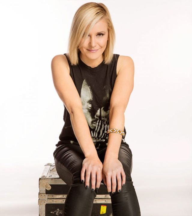 Renee Young Hot in Black Dress