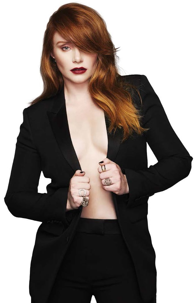 bryce dallas howard awesome cleavages