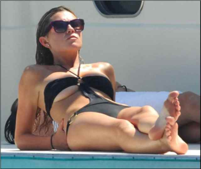 Abbey Clancy Sexy Toes