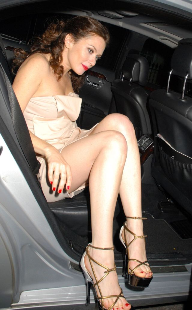 Anna Friel Sexy Toes