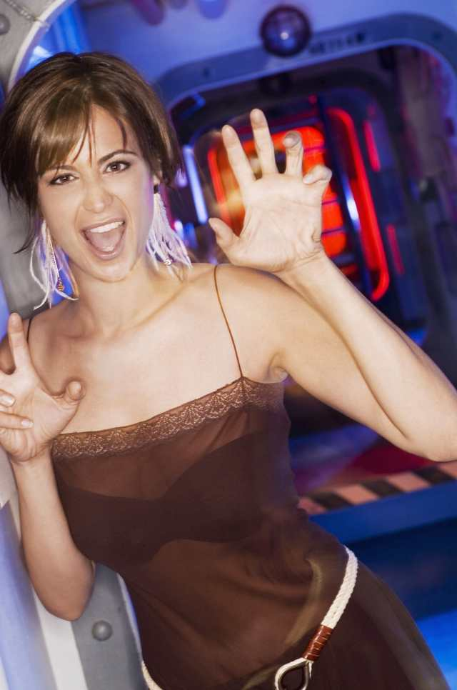 Catherine Bell Angry Girl