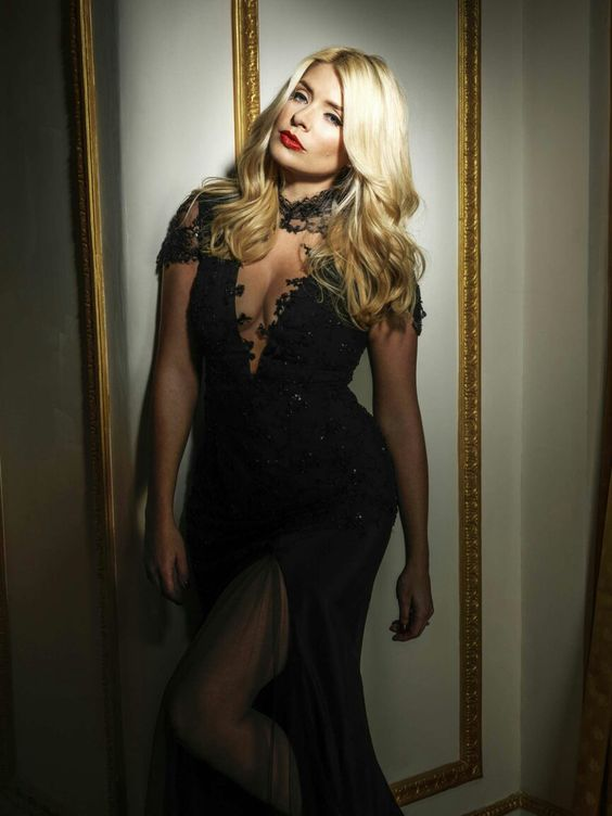 Holly Willoughby Red Lips