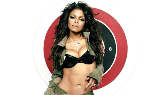 Janet Jackson cleavages sexy
