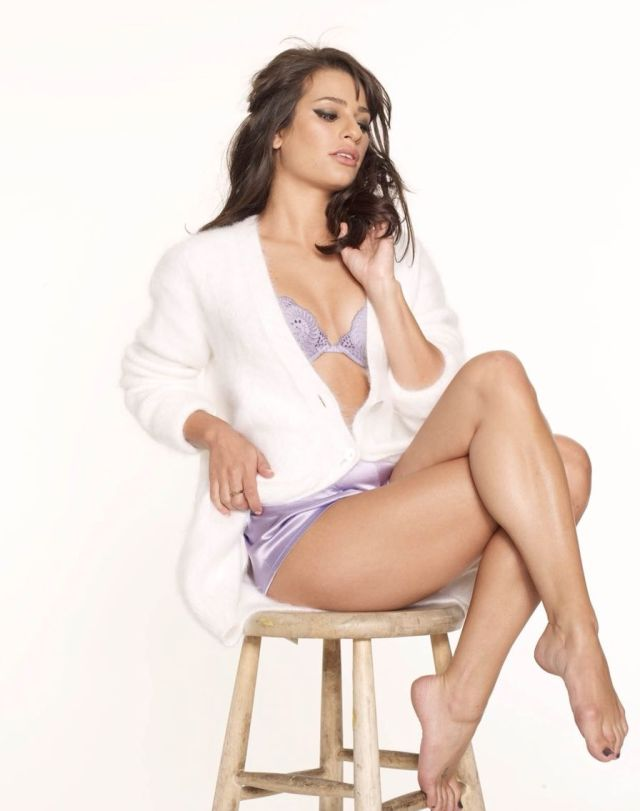 Lea Michele Sexy Toes