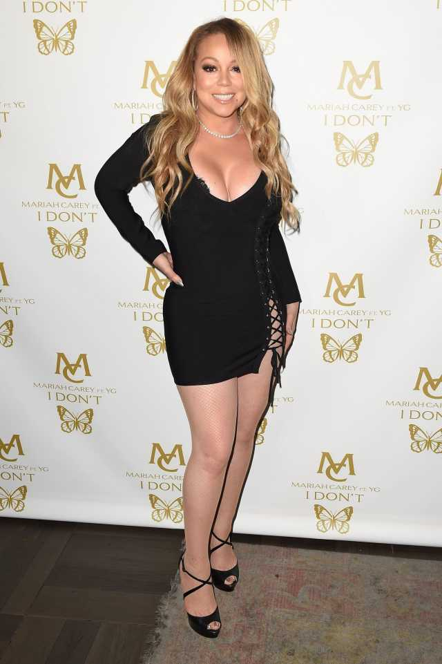 Mariah-Carey-legs hot photos