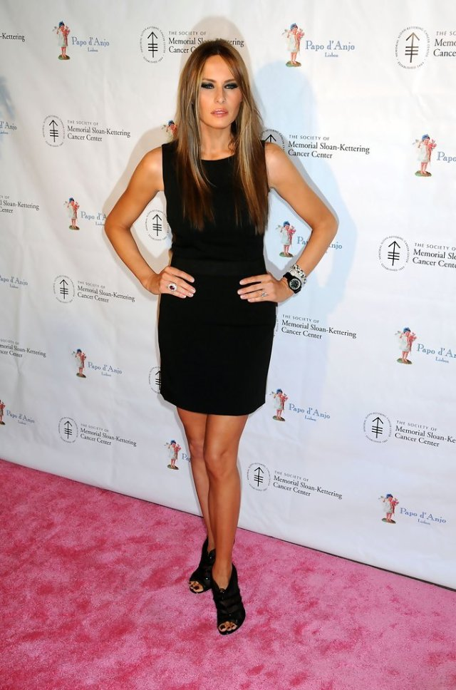 Melania Trump legs awesome pictures