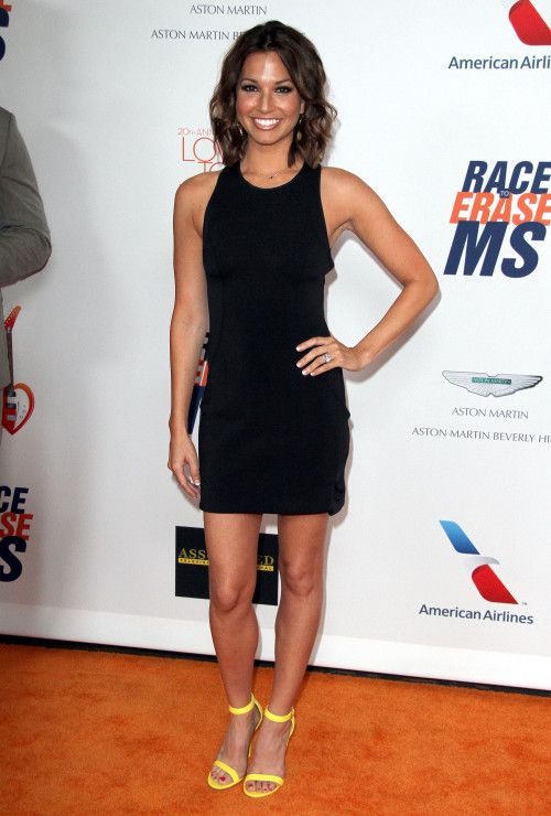 Melissa Rycroft Sexy Feet in High Heels