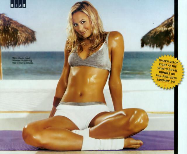 Stacy Keibler Sexy Toes